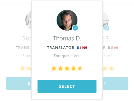 create your team of translators
